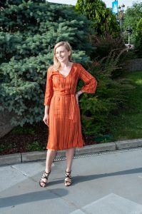 Orange Love Dress